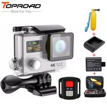 [Charger+Battery+Floaty+Bag] Eken Ultra HD 4K H3R 1080p Wifi Action Camera +2.4G Remote Sport Cameras Mini Camcorders Helmet Cam