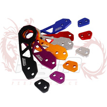 KYLIN STORE - New Racing  Rear Tow Hook FIT FOR HONDA CIVIC Integra RSX with logo without red color(China (Mainland))