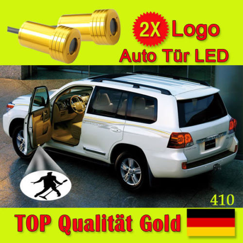 2x car logo Ghost Shadow Projector Door welcome Lamp LED light for Real Madrid Club de Futbol,Houston Rockets(China (Mainland))