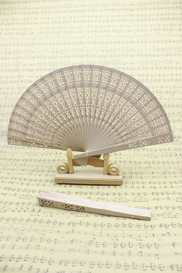 (50 pieces/lot) New Chinese sandalwood fans Fancy wedding favors Advertising and promotional gifts(China (Mainland))