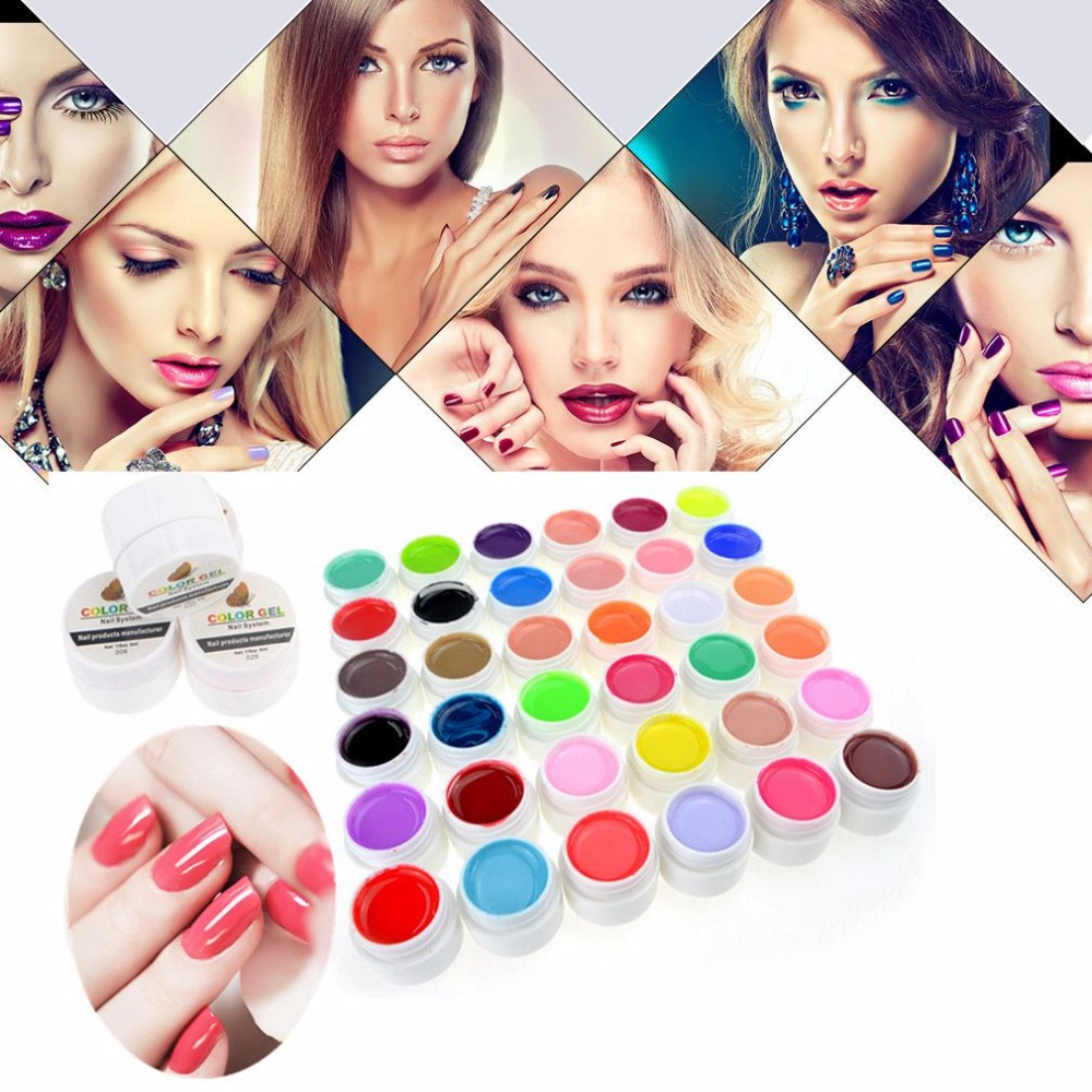 Belen Gel Nail Polish UV Pure Color Gel Nail Polish Manicure Beauty Tools Polish Design Beauty DIY Decoration for Nail Varnishes(China (Mainland))