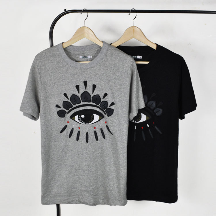 Swag T Shirt Men 2015 New Brand Big Eye T Shirt Homme O Neck Cotton Fashion Men Designer Shirts Summer Short sleeve