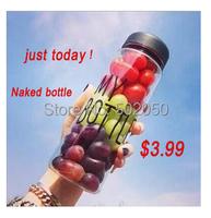 500ml Sport Plastic Funny  Fruit Juice Infuser Water Bottle to drink  cup    Outdoor sport My bottle