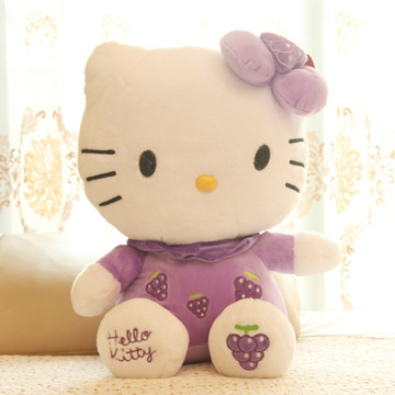 Aoger HELLO KITTY plush doll 56cm*48cm(China (Mainland))