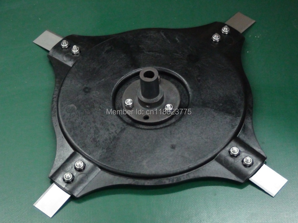Denna L600 Robotic Lawn Mower Blade Disc with Connector and Screw(China (Mainland))