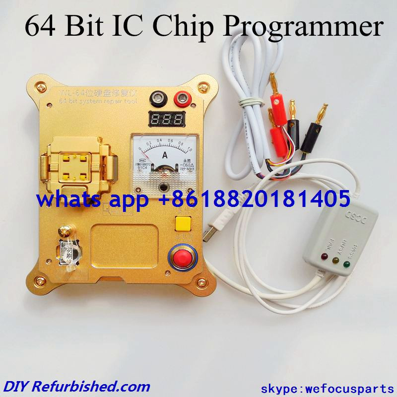 64 Bit IC Chip Programmer Machine Repair Mainboard Nand Flash Hard Disk HDD Serial Number for iPhone 5S 6 Plus for iPad Air 2 3(China (Mainland))