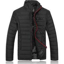 Big size waterproof 2015 new man coat jackets for men cotton-padded parka Spring autumn jaqueta masculina veste homme brand(China (Mainland))