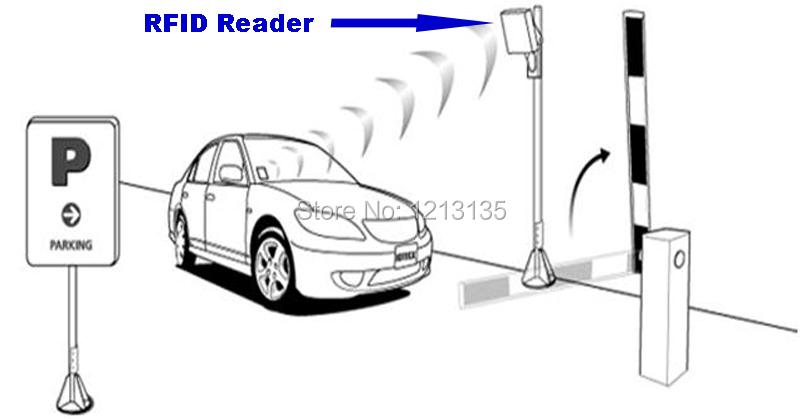 security Long range 6m reading distance uhf reader rfid(China (Mainland))