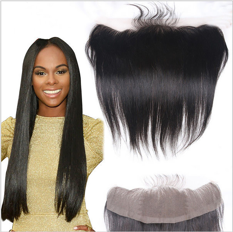Top sale13x4 fashion silky straight frontal,natural color virgin brazilian hair lace top frontal,free parting swiss lace frontal<br><br>Aliexpress