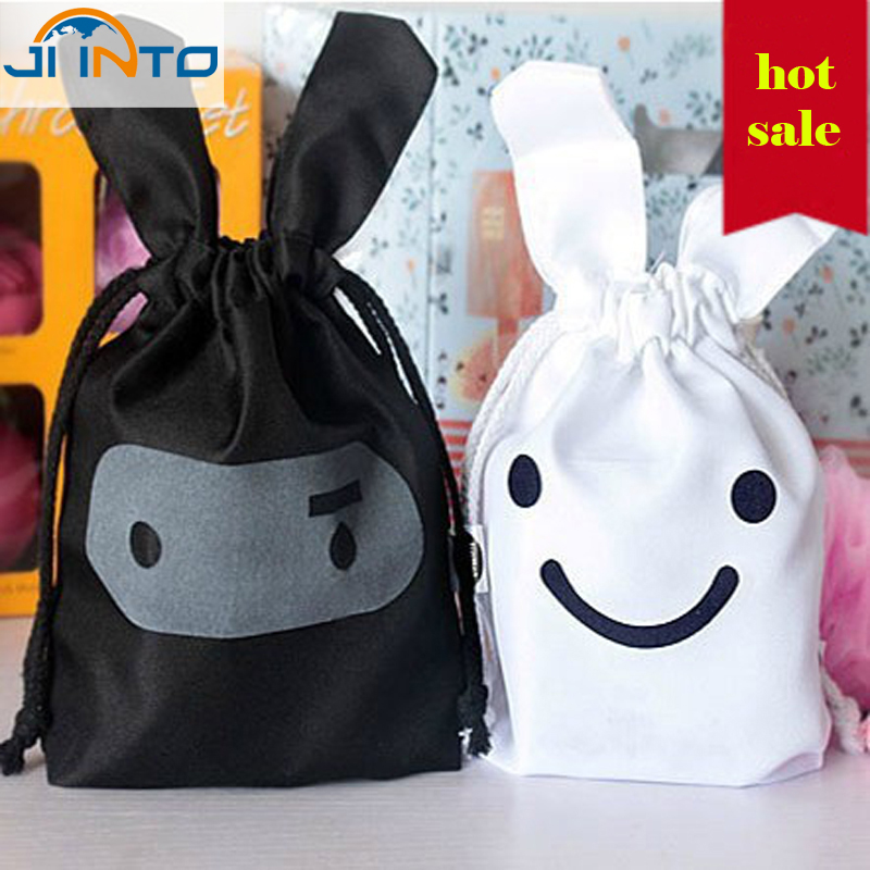 1pcs Cute rabbit shaped Travel Storage Bag For Clothes Tidy Organizer Pouch Home Cloth Storage bags(China (Mainland))
