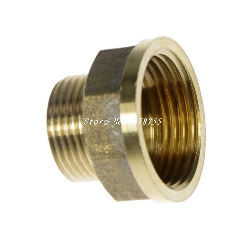 Brass quot female male bspp connection bushing