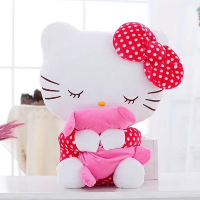 20 СМ Высокое качество hello kitty плюшевые игрушки обнять подушку фрукты KT кошка чучело куклы для девочек детские игрушки подарок мини животных плюшевые кукла