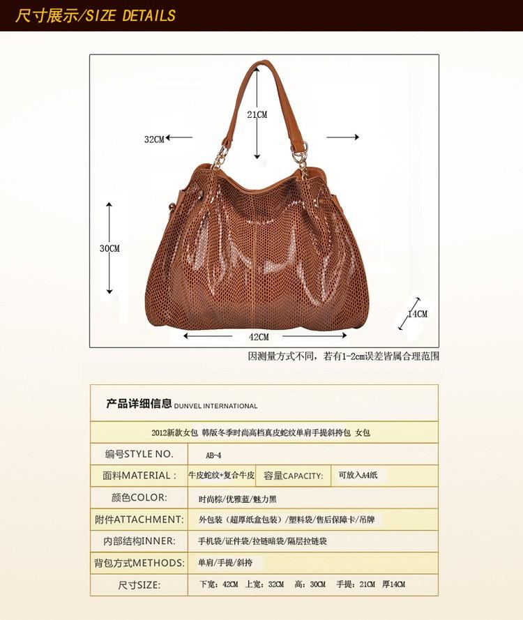 ซื้อ เลดี้จริงหนังออกแบบกระเป๋าถือที่มีคุณภาพสูงกระเป๋าหนังแท้สำหรับผู้หญิงไหล่/กระเป๋าcrossbody Messengerถุงเย็นสิริ