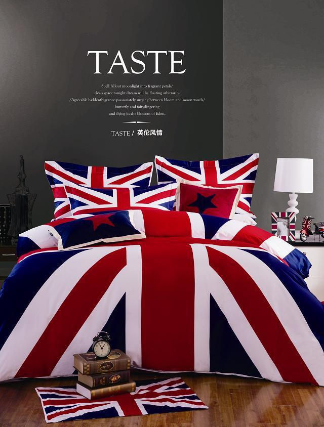 Free shipping 3d bedding sets queen size,cotton 3d bed linen beautiful flower Santa Claus flag Bedding,American flag duvet cover(China (Mainland))