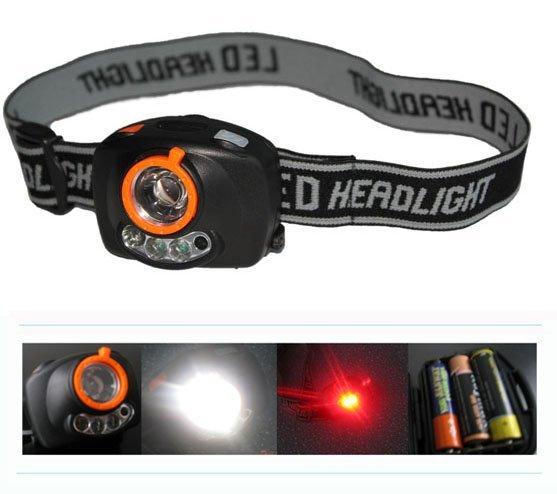 High Power,3 Led,Sensor Led Headlight,Led Headlamp,Front Light
