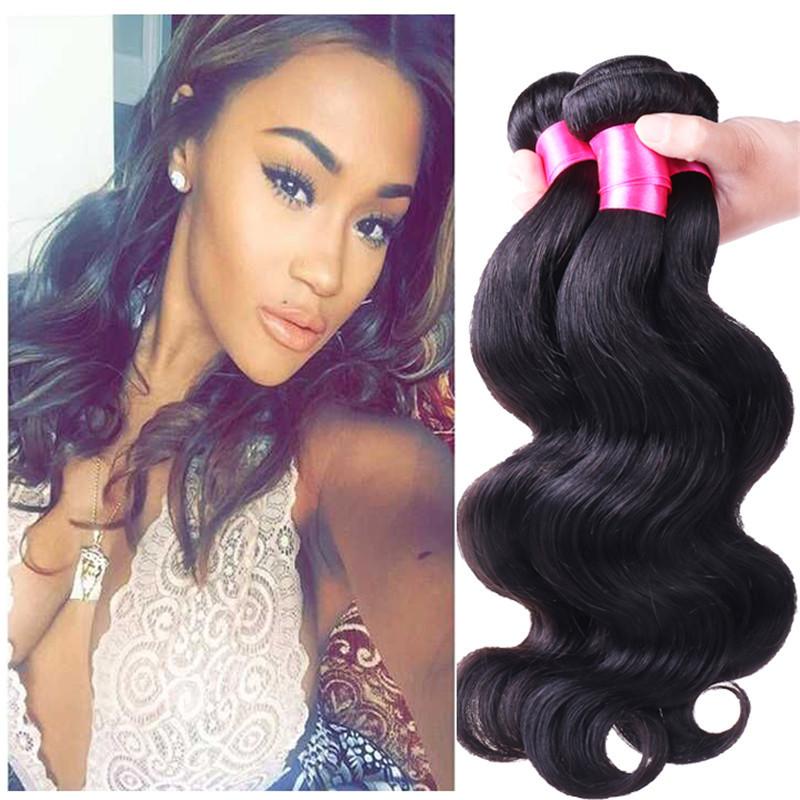 Tissage bresilienne Brazillian virgin hair body wave 3bundles wet and wavy virgin brazilian hair tissage cheveux humain 30inches<br><br>Aliexpress