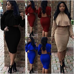 Plus Size Vestidos Warm Cotton Women Lace Up Winter Pencil Bodycon Dress Fall Criss Cross Sexy Club Night Bandage Party Dresses