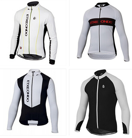 2014 etxeondo hot sale men's cycling jersey long sleeve cycling jersey with fleece bike bicycles clothes maillot ciclismo(China (Mainland))