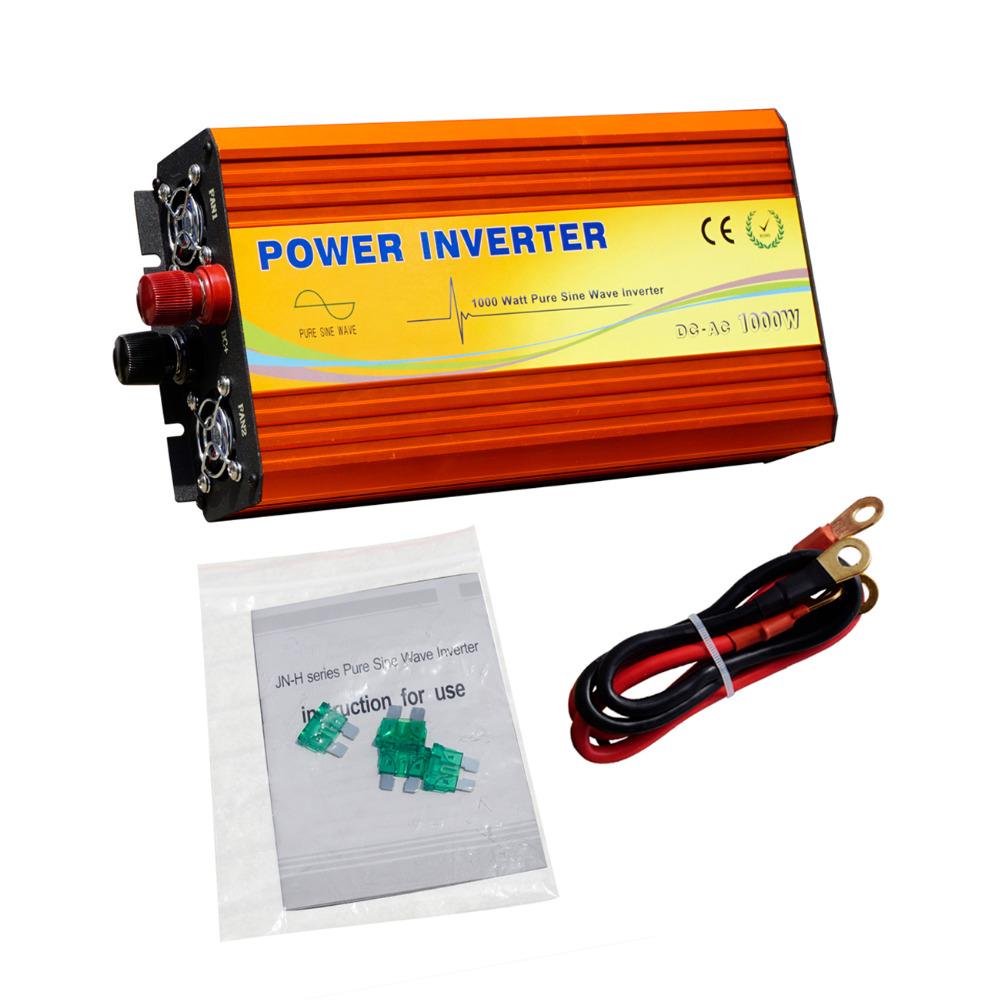 ECO-SOURCES 1000W Inverter 12V to 220V Off Grid Inverter 1KW Inverter for Solar Panel Solar System(China (Mainland))