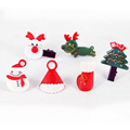 6 Piece Christmas Baby Girls Headwear Hairpins Hot Sale Cute Baby Hair Accessories For Girls Christmas