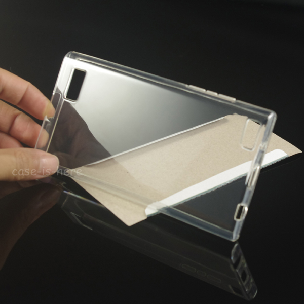 Soft Transparent TPU Gel Cover Case Skin For BlackBerry Leap(China (Mainland))