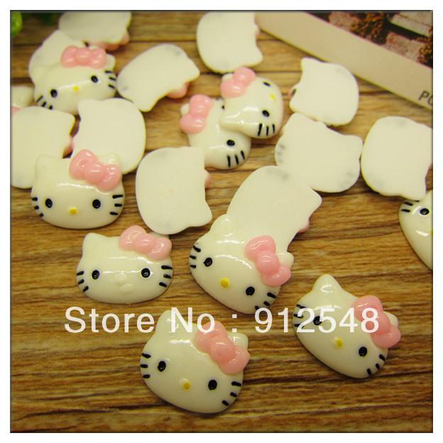 Ann Fashion Accessories,2013 new 30pcs/lot, Flat back resin cat free shipping,YISHA117