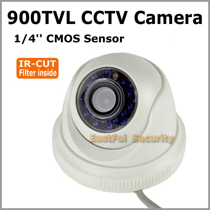 CCTV Camera 900TVL CMOS 960H IR-Cut filter 20pcs IR led day and night vision indoor dome camera home security surveillance(China (Mainland))