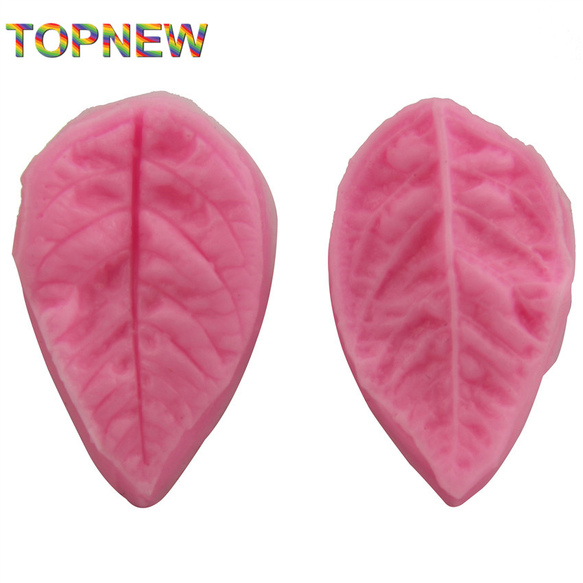 leaf shape silicone soap mold,Fondant Cake Decorating styling Tools, bakeware,cooking tools kitchen accessories 2297 - Doinb Ali Store store