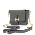 Fashion Nubuck Leather Chain Bag Small Bag Women Designer Concise Crossbody Bag Solid Color Flap Shoulder