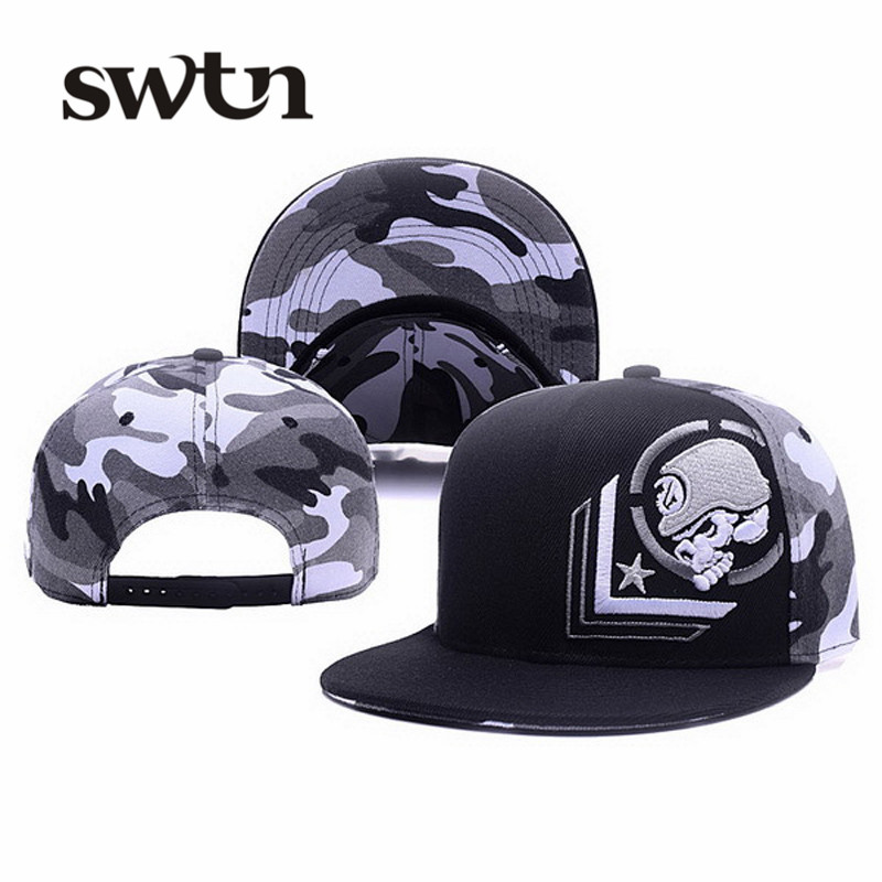New Snapback Hip hop Cap Rockstar Fox Cap Skull Adjustable Baseball Cap For Men Women casquette gorras planas bone aba reta toca(China (Mainland))