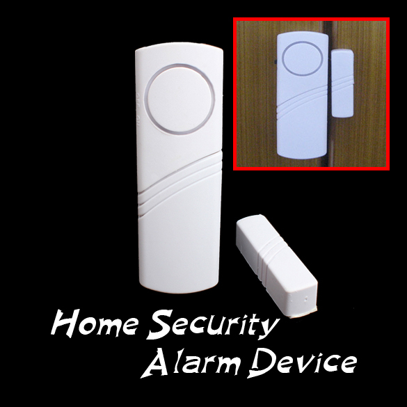 High Quality Longer Door Window Wireless Burglar Alarm System Safety Security Device Home Hot Sales Free Shipping(China (Mainland))