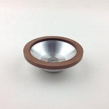Herramientas de diamante lijadora de banda herramientas resina de la aleación de ruedas equipado en lo Universal de rueda amoladora especificaciones 125 * 32 * 10 * 3