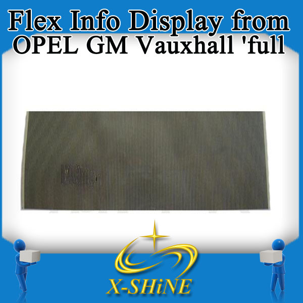 wholesale Flex Info Display from OPEL GM Vauxhall 'full', made by siemens, Pixel cable, Flat LCD Connector(China (Mainland))