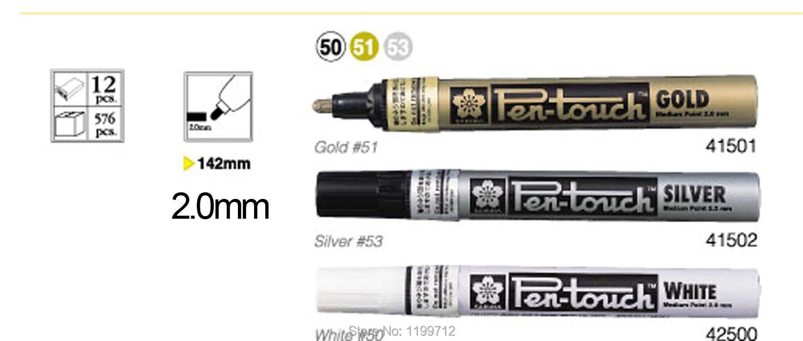 Gold Paint Pen Pen Touch Bullet Tip Paint