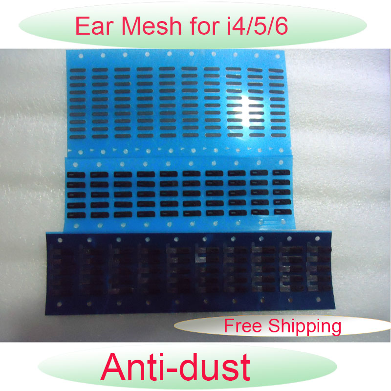 Original 0EM Anti- Dust Mesh Parts for Apple iPhone4 4S 5 5C 5S 6 6 Plus 6S 6S Plus Ear Speaker Earphone Earpiece Adhesive Grill(China (Mainland))
