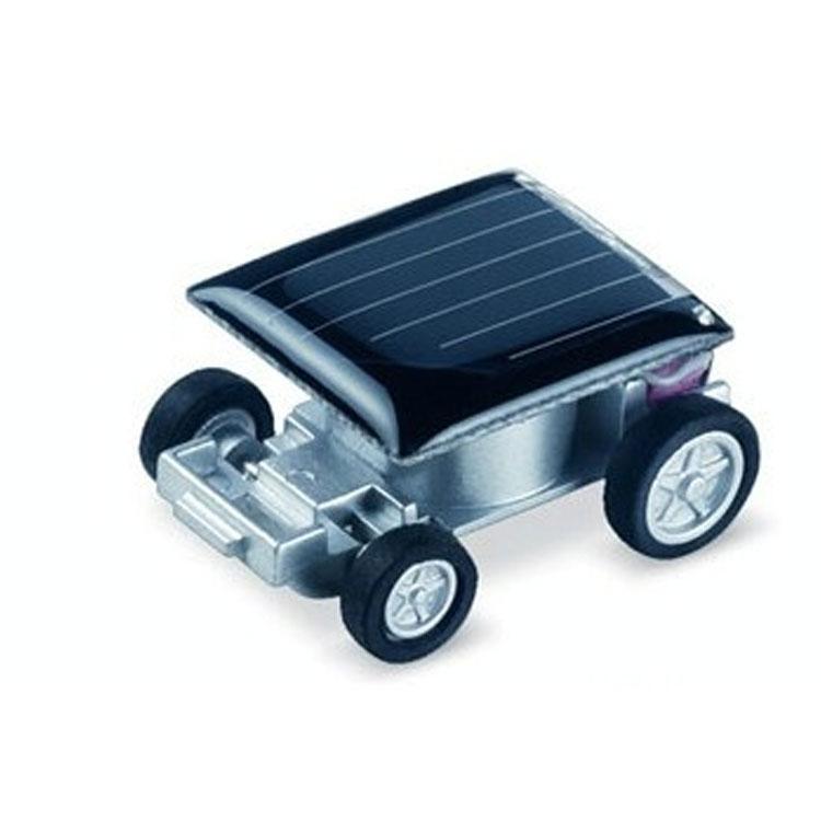1pcs Smallest Mini Car Solar Power Toy Car Racer Educational Gadget Children Novelty sunshine toys Education toys Kid's Toys(China (Mainland))