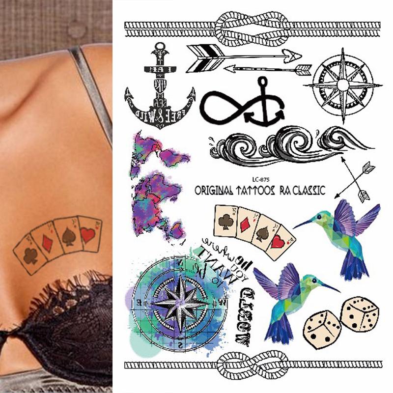 Acquista all 39 ingrosso online anchor fiore tatuaggi da - Modello di base del fiore ...