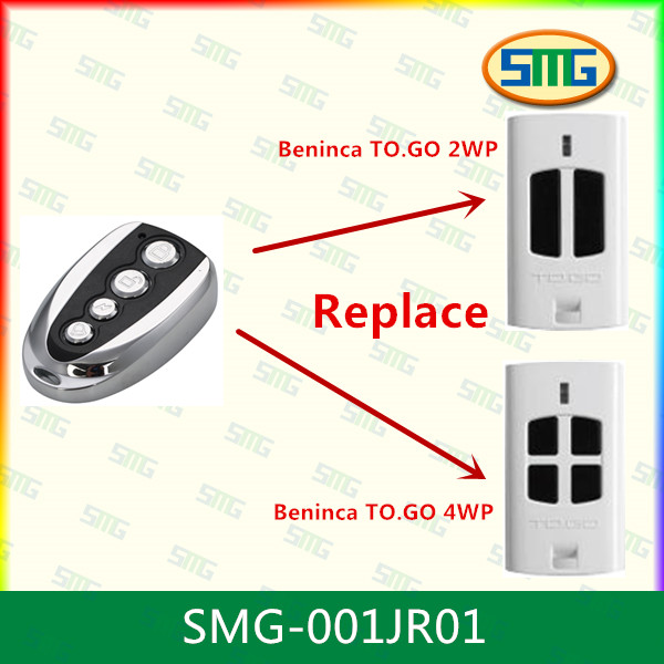 BENINCA TO.GO2WV 100% Clone remote Control 433.92Mhz Fixed code(China (Mainland))