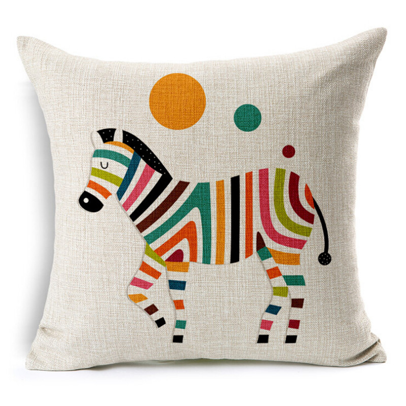 New Animal Cushion Home Decor Cushions Linen Decorative