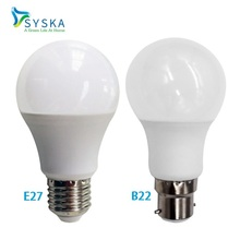 Buy Syska Real power LED Bulb Lamp B22 E27 3W 5W 7W 9W 12W 15W 220V 110V Ampoule Bombilla Lampada Candle Bulb Cold/Warm White for $12.33 in AliExpress store