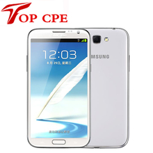 original samsung Galaxy Note II 2 N7100 EU version Refurbished N7105 8.0MP camera GPS Android 4.1 phone WIFI Free shipping(China (Mainland))