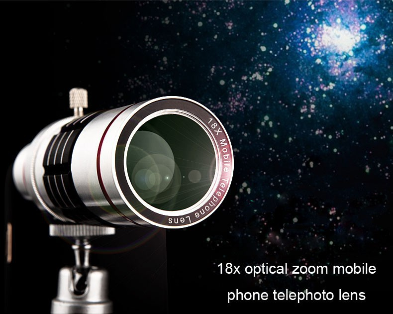 Practical 18x Optical Zoom Telescope Mobile Phone Lens For iphone6 With Tripod Phone Lens 18x Phone Camera Lens For iphone 6(China (Mainland))