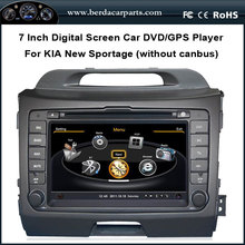 7″Car DVD Audio Video Player For KIA New Sportage With GPS Navigation Radio Bluetooth Free Map without canbus function