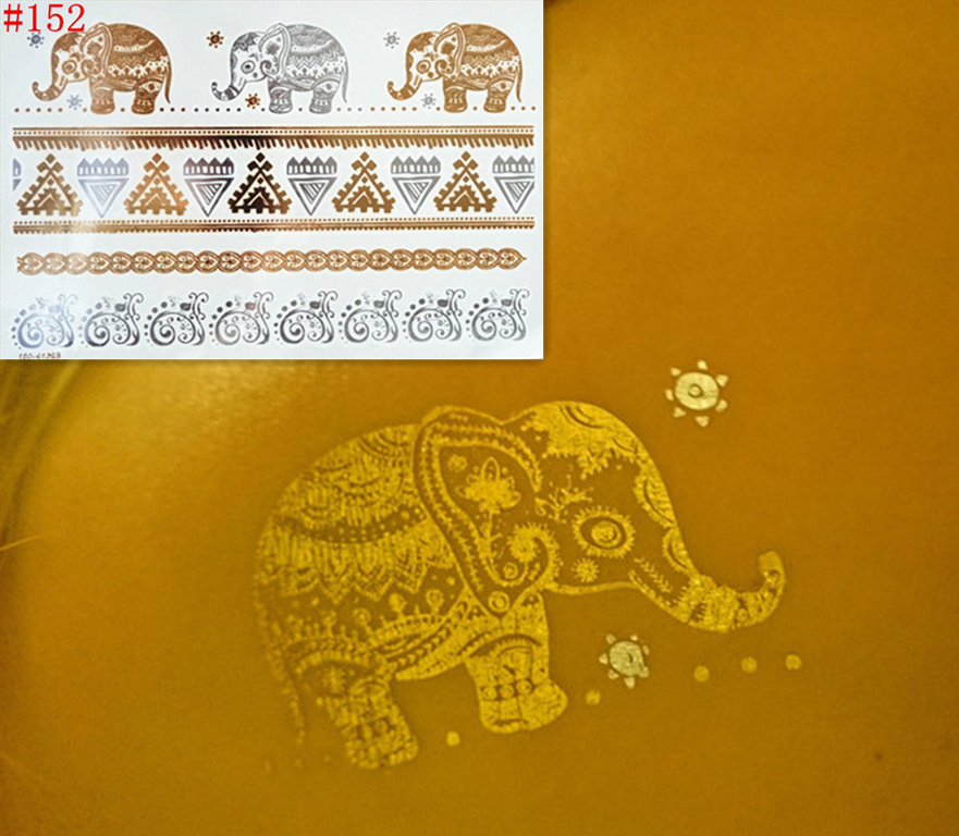 500 different styles for your choice Body painting glitter gold tattoo temporary stickers flash tattoo Disposable indians tattoo(China (Mainland))