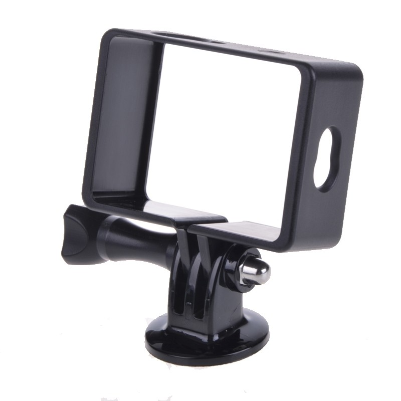 PULUZ Standard Protective Plastic Frame Mount Housing with Assorted Mounting Hardware for Xiaomi Yi Sport Camera Accessories