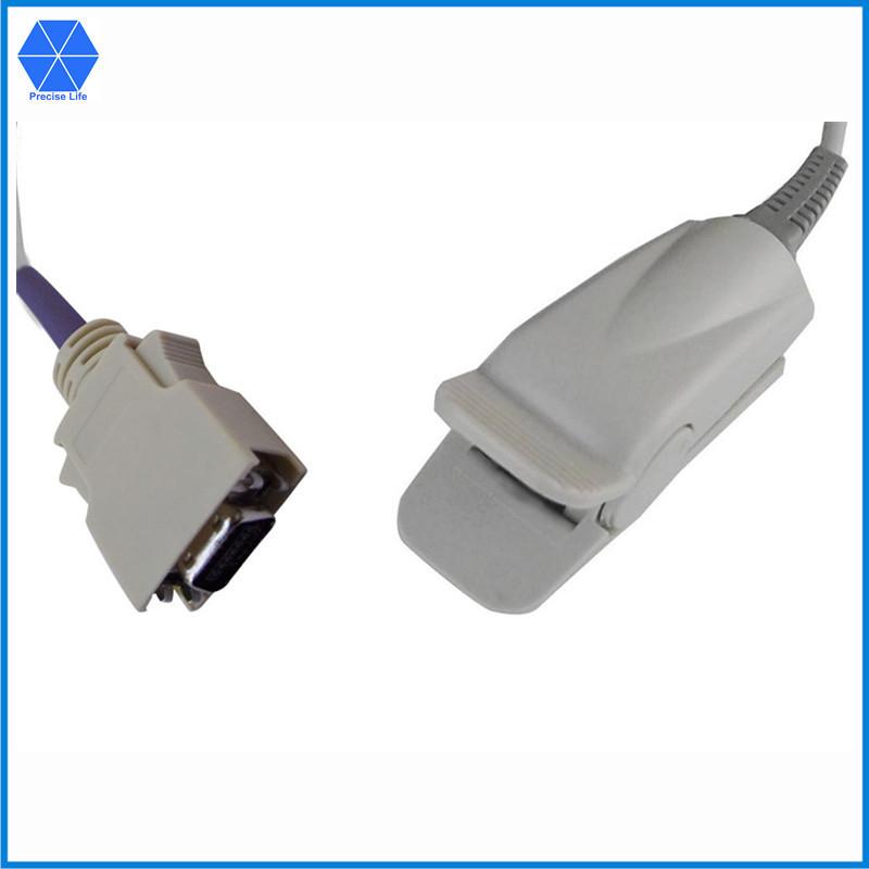Compatible Masimo SpO2 sensor LNOP DCSC 1396 AMP 14 pin TPU cable 10ft(China (Mainland))