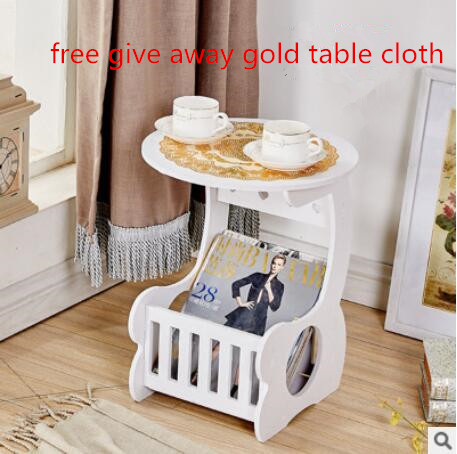 Smartlife DIY Coffe Table with Magzine Rack Living Room Table with A Gold Table Cloth Free Give Away(China (Mainland))
