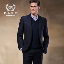 2015 Slim Men's Clothing Men Suit Business/Wedding Suits Blazer Button Black Color Fashion Men's Suit Single Breasted DR8168-2