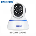 Escam QF002 HD 720P Wireless IP Camera Day Night Vision P2P WIFI Indoor Infrared Security Surveillance