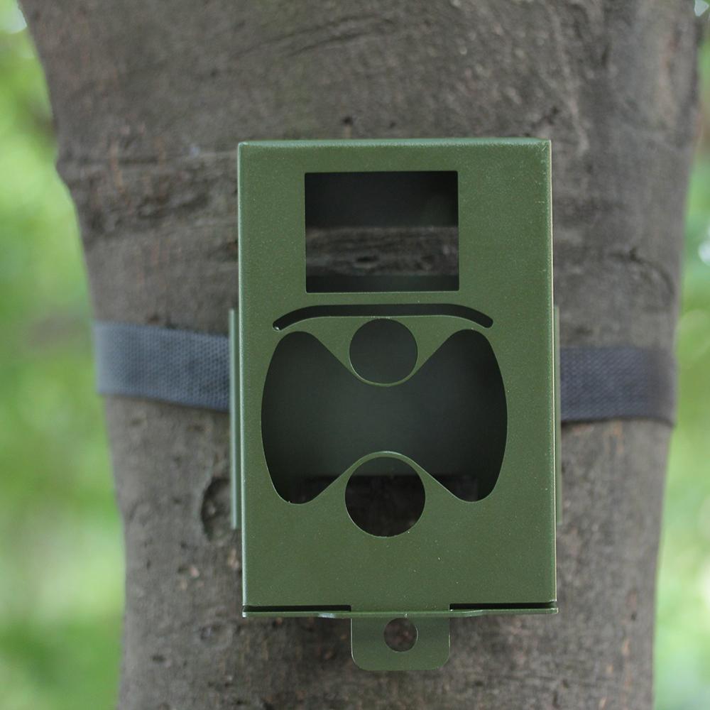 Iron Security Box for Suntek Hunting Trail Camera HC-300 Series(China (Mainland))